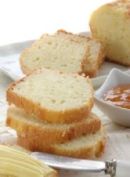 Vanilla Pound Cake Recipe - This healthy pound cake uses less sugar, light cream cheese and some egg whites instead of eggs. This pound cake is low in fat, cholesterol and sodium. It tastes great with fruit as a topping. #recipe #dessert #cake