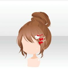Anime Chibi, Kawaii Anime, Character Inspiration, Character Design, Pelo Anime, Chibi Hair, Manga Hair, Hair Illustration, Kawaii Hairstyles