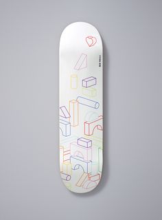 Collective Good asked 30 local artists to use blank skateboard decks as a canvas for their thoughts on Japan's earthquake and tsunami devastation. The decks were auctioned off at a fundraising event with all proceeds going to Direct Relief International. Opting to deliberately steer clear of the obvious red and white Japanese icongraphy, our design uses universally understood building blocks and the title 'Rebuild' (Saiken) to convey positivity, hope, and creativity.