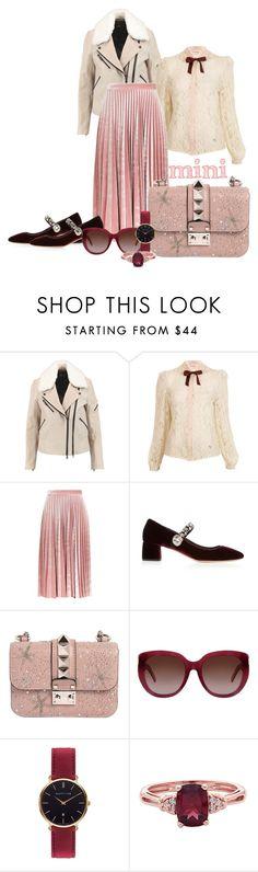 """Mini handbag"" by flipars ❤ liked on Polyvore featuring rag & bone, Miss Selfridge, Topshop, Miu Miu, Valentino, Yves Saint Laurent, Abbott Lyon and Minime"