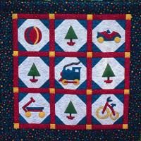 The Toy Quilt - via @Craftsy