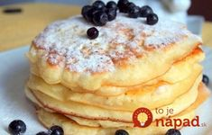 Pancakes at yogurt in 30 minutes: the perfect breakfast. How To Cook Pancakes, Crepes And Waffles, Delicious Desserts, Yummy Food, Tasty, Cookie Recipes, Dessert Recipes, Breakfast Recipes, Cooking Bread