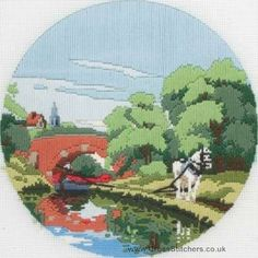 The Towpath Long Stitch Kit by Anchor