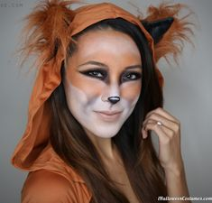 What Does the Fox Say Makeup - Halloween Costumes 2013