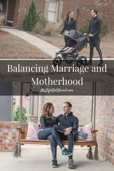 Balancing Motherhood & Marriage from Heather Brown of MyLifeWellLoved.com // Marriage Advice // Mom Life // Marriage Tips for moms