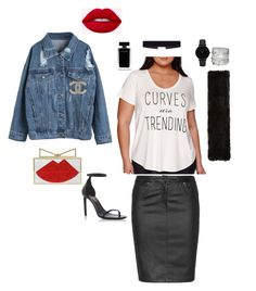 """""""Casual Chic"""" by tayslays1121 on Polyvore featuring Boutique+, Zhenzi, Yves Saint Laurent, WithChic, 8 Other Reasons, Narciso Rodriguez, Sara Battaglia, Yves Salomon, CLUSE and Avenue"""