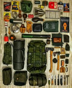 Bug Out Bag List – Thomas Oberwolfach – bushcraft camping Bushcraft Camping, Bushcraft Gear, Camping Survival, Outdoor Survival, Survival Prepping, Survival Skills, Camping Gear, Outdoor Camping, Bushcraft Backpack