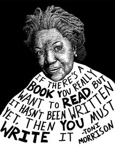 Toni Morrison Authors Series by Ryan Sheffield by RyanSheffield, $15.00