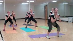 Butts & Guts- 30 min workout. Video by Andrea Bruski. This girl had an amazing turbo kick class back up at school