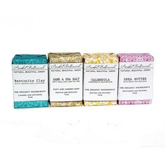 Any Four Soaps  Organic  100 Natural  by PeridotBotanicals on Etsy, $23.00
