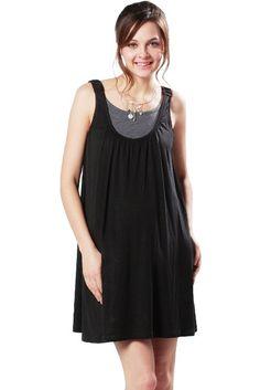 Amazon.com: Sweet Mommy Sleeveless Drape Design Maternity and Nursing Dress BKGRF: Clothing