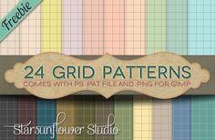 Stylish Grid Paper Patterns PAT PNG - http://www.welovesolo.com/stylish-grid-paper-patterns-pat-png/