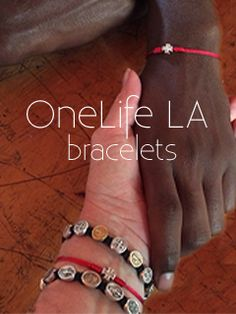 support OneLife LA by purchasing a OneLife LA My Saint My Hero Blessing Bracelet