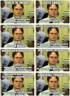 Too bad everyone isn't as smart as Dwight