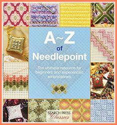 A great resource to learn about all aspects of needlepoint including stitches and working techniques. #ad