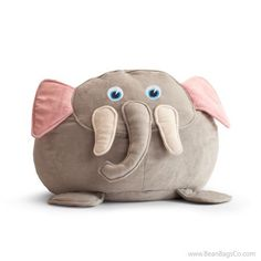 Comfort Research - Bean Bagimals  - Emerson the Elephant Bagimal   ON SALE: $54.99   Free Shipping - No Sales Tax.