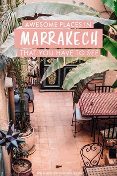 The First-Timers Guide To Marrakech - No Hurry To Get Home Visiting Marrakech soon and wondering what to do? After countless trips and getaways to Marrakech, I've rounded up the top things to do and places to visit in Morocco's red city. Marrakech Travel, Marrakech Morocco, Morocco Travel, Africa Travel, The Places Youll Go, Cool Places To Visit, Places To Travel, Travel Destinations, Viajes