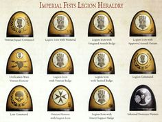 Imperial fists heraldy