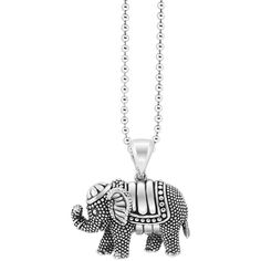 Lagos Rare Wonders Elephant Pendant Necklace, 34 ($315) ❤ liked on Polyvore featuring jewelry, necklaces, dangle necklace, elephant pendant necklace, sterling silver elephant jewelry, sterling silver elephant necklace and sterling silver pendant necklace
