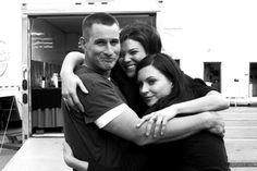 Set Huggies!!! Brendan, Jeananne and Jill ♡♡♡