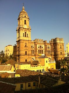 Catedral de Málaga en Málaga, Andalucía