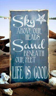 Great sign for beach lovers!