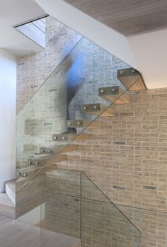 Clear staircase
