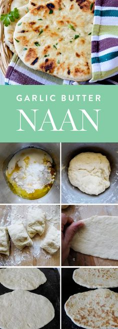 Discover this delicious garlic butter naan and 30 more Indian dinner recipes to make at home.