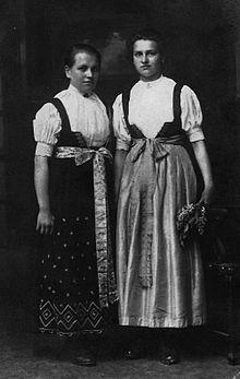 Cieszyn folk costume - Wikipedia