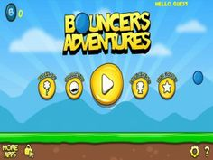 Bouncers Adventures - This is a fast-paced game with challenging objectives. Players act as a bouncing blob to collect coins during a limited period of time. Successfully completing the level during the time period allows Bouncers Adventures' players to be awarded with the coins they've managed to grab during that time, and these coins can then be used to unlock things like helpful power-ups that should make completing levels a bit easier. Click the image for our full review.