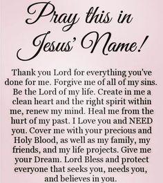Pray in Jesus Christ name, Amen ✝️‼️ Prayer Scriptures, Bible Prayers, Faith Prayer, God Prayer, Prayer For Salvation, Prayer Quotes For Strength, Guidance Quotes, Sinners Prayer, Prayers For Strength