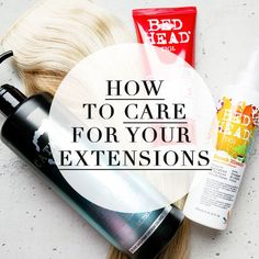 Take a look at our top tips on how to care for clip-in hair extensions over on the Dirty Looks blog!