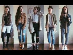 OOTW: January Casual Outfits - YouTube