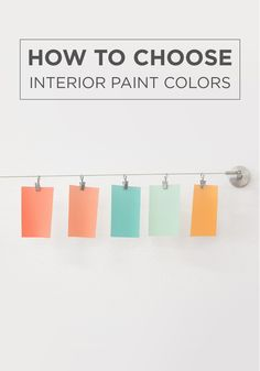 Take the guesswork out of your home makeover with this guide on how to choose interior paint colors. From tangerine to aqua, the perfect hue for your space is right around the corner.