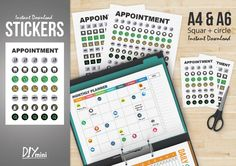 Appointment Collection Sticker http://selz.co/1PaiSsj