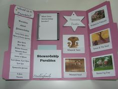Parables of Jesus Lapbook