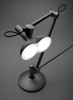 Lobot LED Desk Lamp by Jinseok Hwang