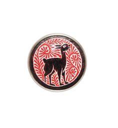 Noosa Amsterdam chunk Vicuna. De Vicuna is het nationale symbool van Peru en werd ten tijde van de Incas al beschermd. Het dier werd door iedereen met respect behandeld en staat voor gelijkheid - NummerZestien.eu