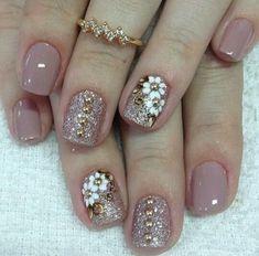 How to choose the shape of nails? - My Nails Shellac Nails, Toe Nails, Pink Nails, Manicures, Nail Polish, Acrylic Nail Designs, Nail Art Designs, Nails Design, Nagellack Design