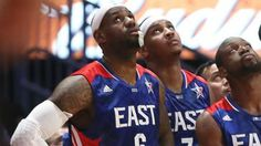 "LeBron James said he'd take a pay cut to play with Carmelo Anthony, Dwyane Wade and Chris Paul. Melo is on board. Melo, via Marc Berman of the New York Post: ""We still got years in this leagu…"