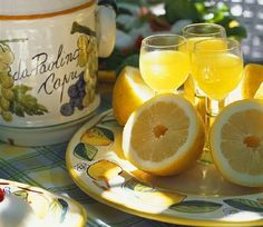 Lemoncello!!! My all time favorite Italian drink. Made my long sunny nights in Italy more refreshing :)