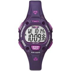 Wondering if this is a decent watch to use for running goals. Sure is priced right...Timex Women's Ironman Traditional 30-Lap Plum Digital Watch | Overstock.com Shopping -