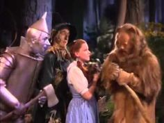 Dorothy Meets The Cowardly Lion - YouTube