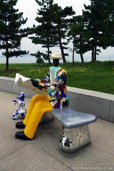 "Art is everywhere on Naoshima aka ""The Art Island of #Japan""."