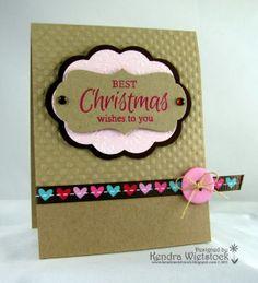 Kendra's Card Company: Christmas {{Hearts}}