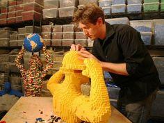 Fazendo arte com LEGO, Nathan Sawaya em NY