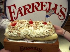 Who remembers Farrell's? I have the best memories of going there for Birthdays with family and friends. We would get to pick out candy in the general store and I always chose the perfect size jaw breakers! The best memories ❤❤ Farrell's Ice Cream, Ice Cream Parlor, Best Ice Cream, Those Were The Days, The Good Old Days, Great Memories, Childhood Memories, Childhood Toys, School Memories