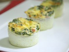 Receta de Muffins de Espinacas
