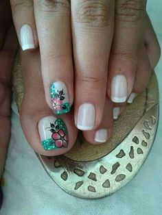 Cute Pedicures, Nail Time, Easter Nails, Mani Pedi, S Pic, Anklets, My Nails, Nail Art, Beauty