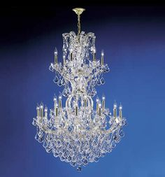 James R. Moder 94754 25 Light Maria Theresa Royal Chandelier ...
